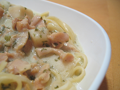 Linguine With Clam Sauce 2