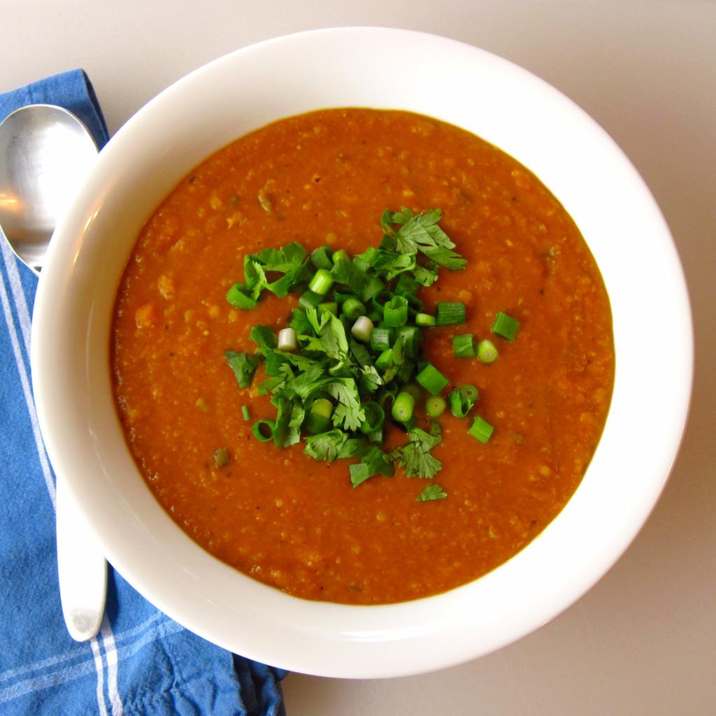 Red Lentil Soup 5