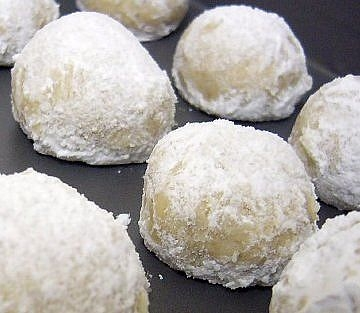 Russian Tea Cakes (Shhhh.... they're really cookies)