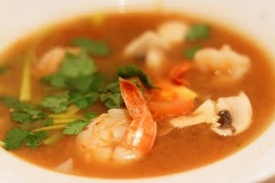 Shrimp Soup or Tom Yum Soup