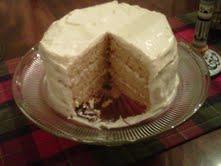Peach Ginger Cake