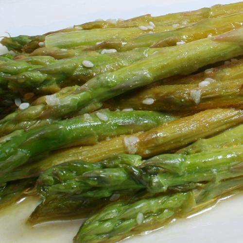 Asparagus in Vinaigrette