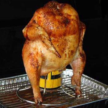 Beer Can Chicken - Tiny New York Kitchen