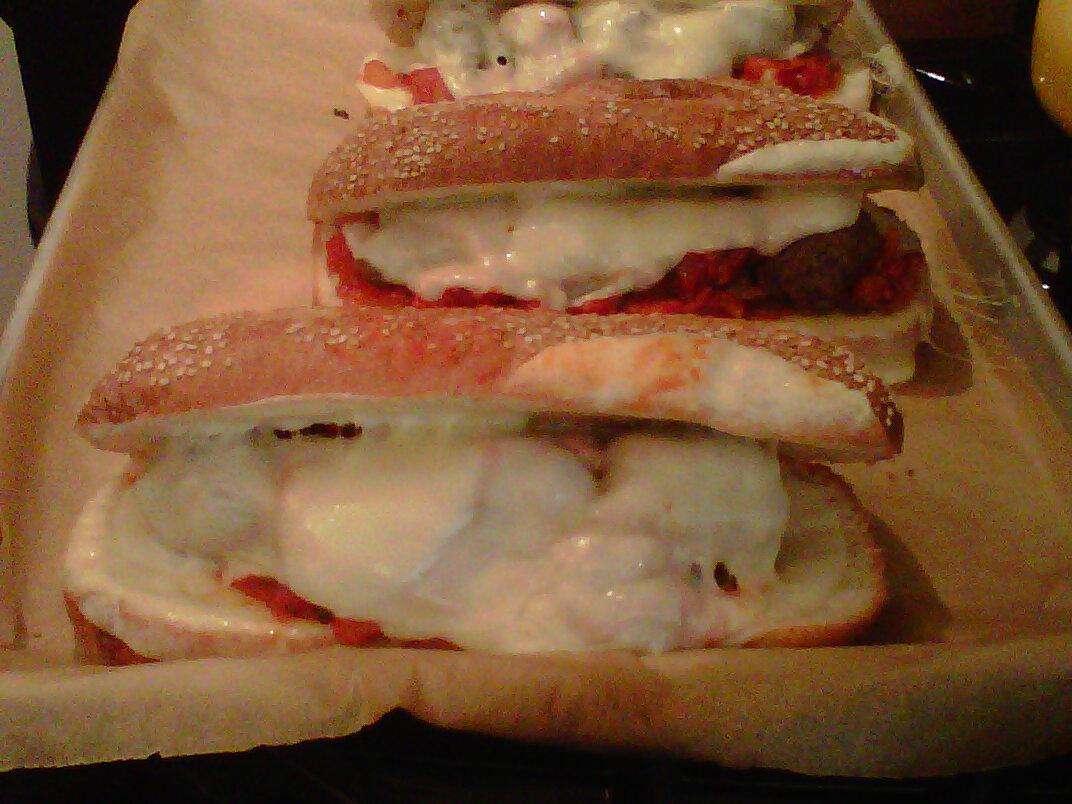 Italian Meatballs Sandwiches