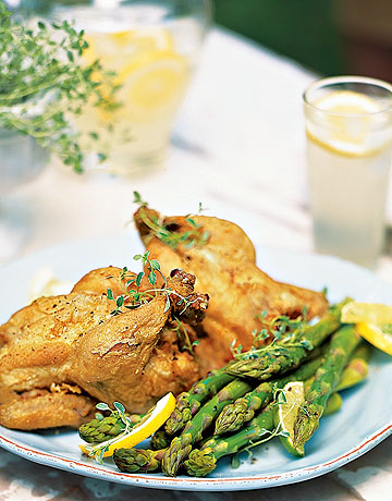 Cornish Game Hens With Herbs & Butter