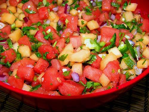 Summer Melon Salsa