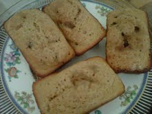 Mini Blueberry Breads