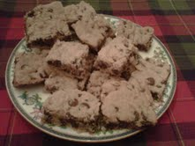 Victoria's Chocolate Chip Bars