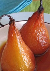 Baked Pears With Marsala Wine
