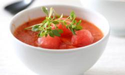 Cold Watermelon Soup
