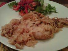 Sauerkraut Pork Chops
