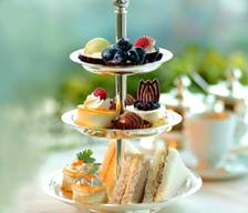 Tea Time Herbed Cream Cheese Sandwiches