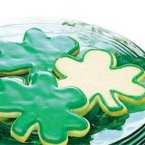 Shamrock Cut Out Cookies