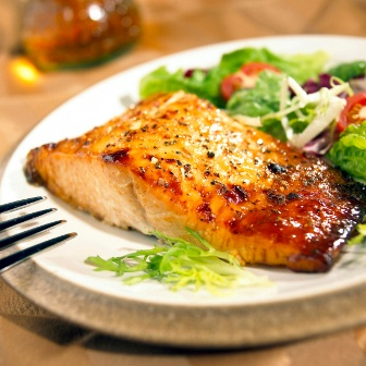 Ginger And Lime Grilled Salmon