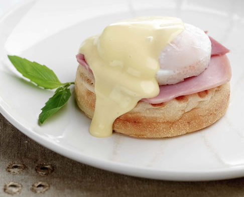 Mother's Day Eggs Benedict