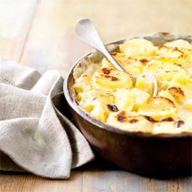 Sour Cream Gratin Potatoes