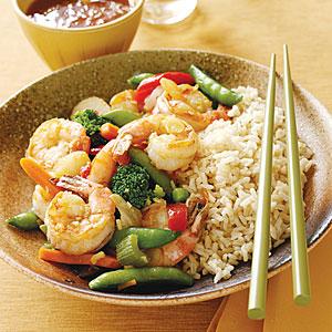 Stir Fried Shrimp