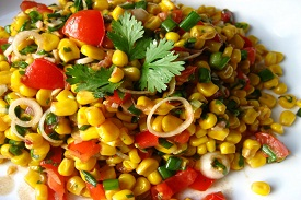 Summer Corn & Tomato Salad