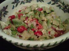 Avocado & Corn Salad