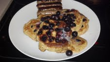 Saturday Morning Blueberry Pancakes