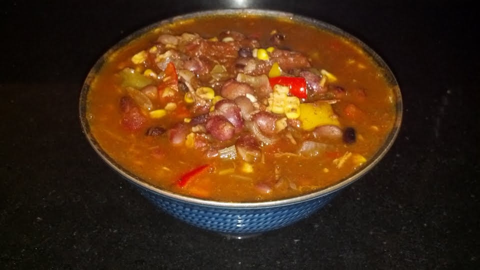 Fiesta Bean & Chicken Soup 4