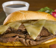 French Dip Sandwiches With Cheese