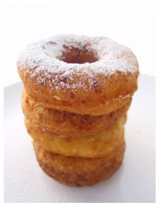 Sunday Morning Cake Doughnuts
