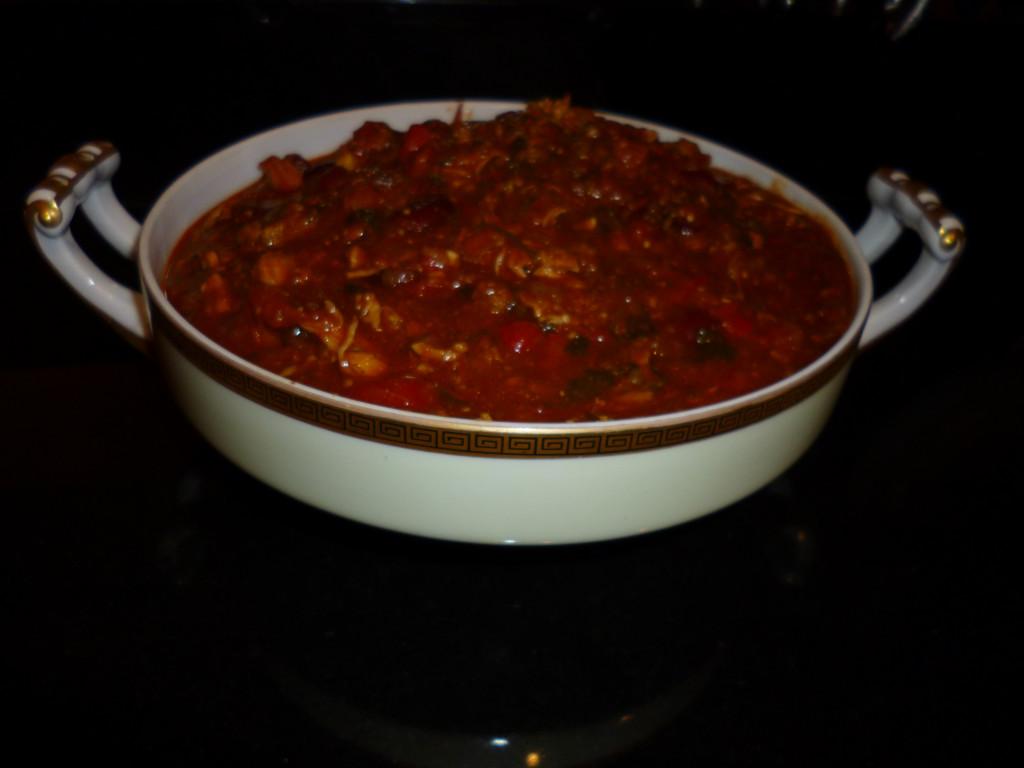 Victoria's Chorizo & Turkey Chili