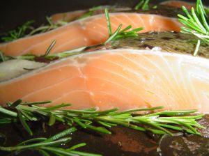 Salmon & Asparagus Chowder