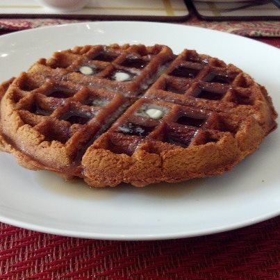 Sunday Morning Cinnamon Waffles