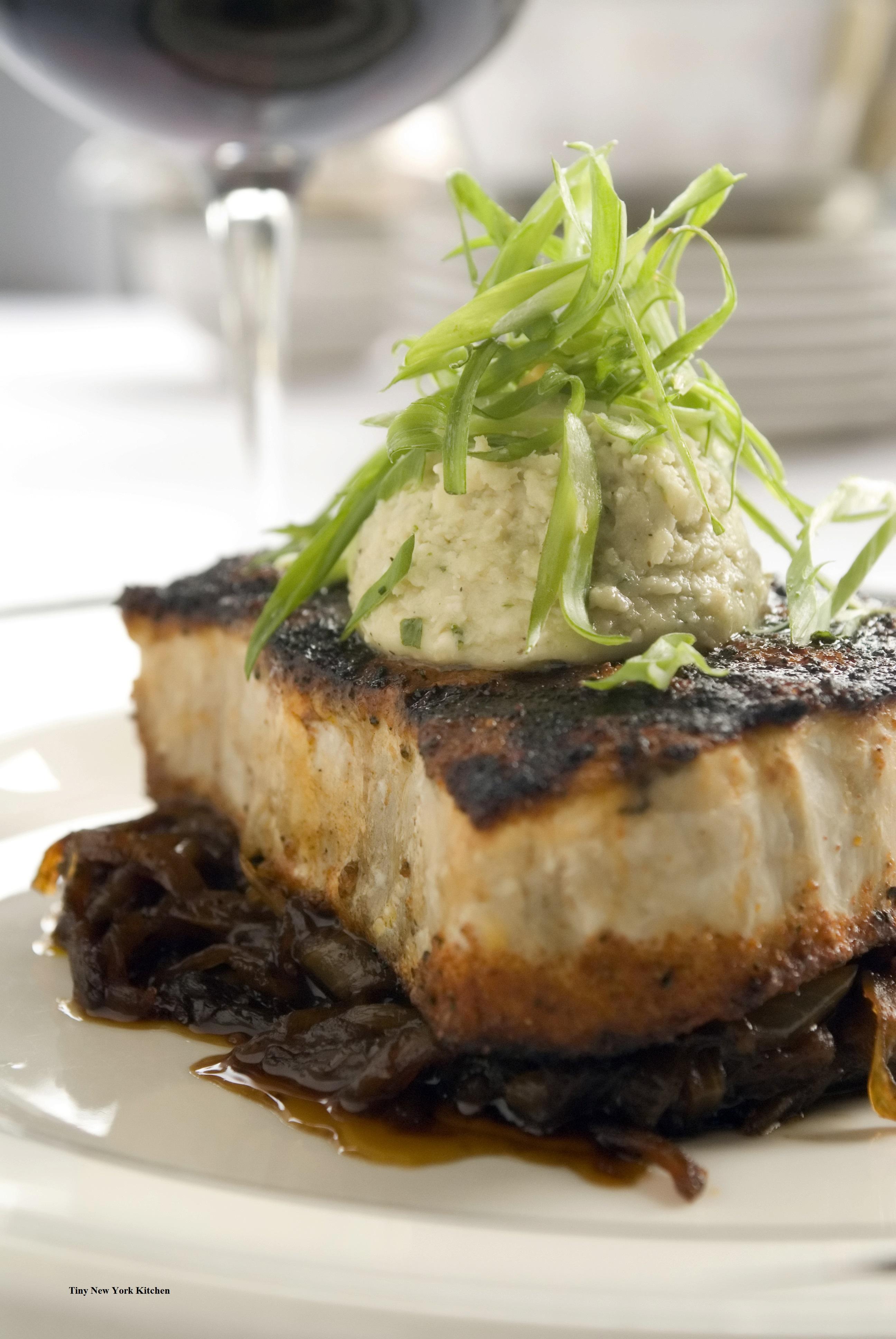 Blackened Swordfish - Tiny New York Kitchen