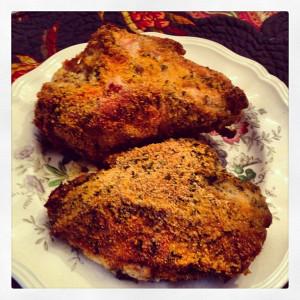 Crusty Parm Chicken