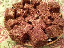 Dark Chocolate Crispy Treats