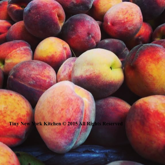 Peach Plum Shortbread Tart