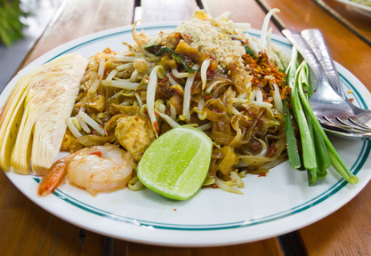 Pad Thai is the ultimate street food in Thailand