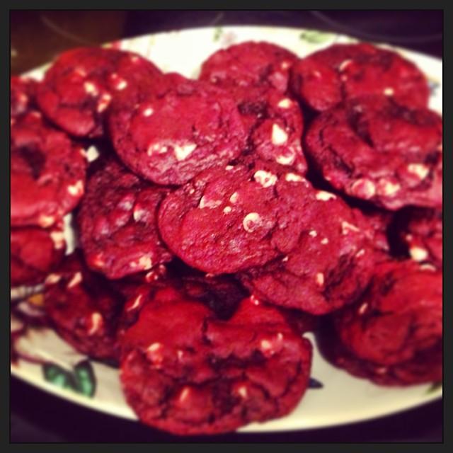 Red Velvet Cookies 1