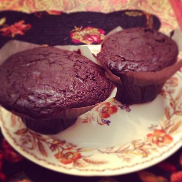 Boston Brown Bread Muffins