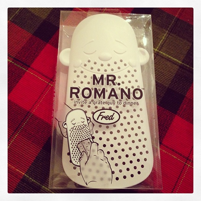 Mr. Romano Cheese Grater