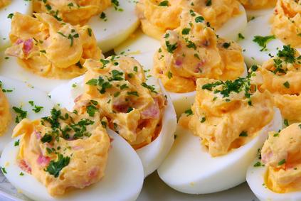 Devilish Deviled Eggs