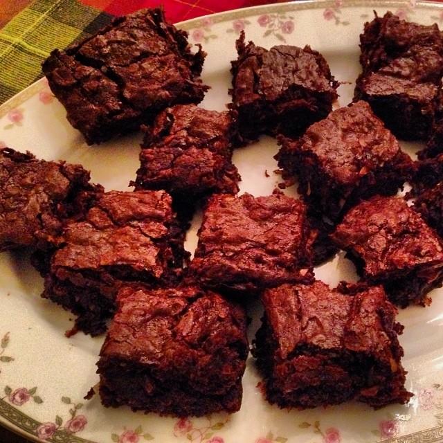 Root beer coconut chocolate brownies 2