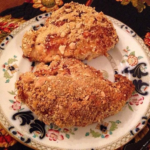 Cashew Fried Chicken Breasts