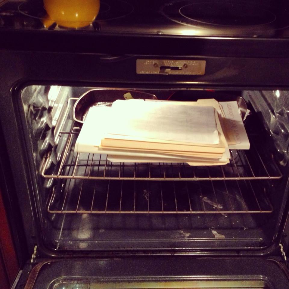 Oven File Cabinet