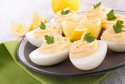 Deviled Eggs Four Ways