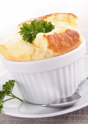 Classic Cheese Soufflé