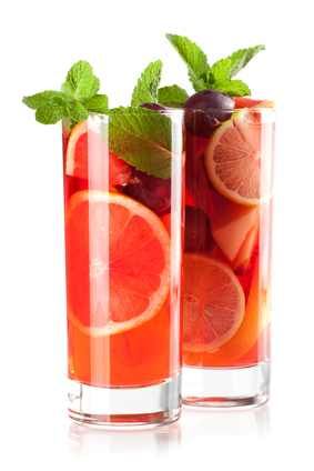 Ruby Red Grapefruit Iced Tea