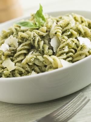 Asparagus Pesto Pasta - Tiny New York Kitchen