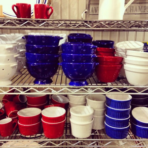 Patriotic dishes