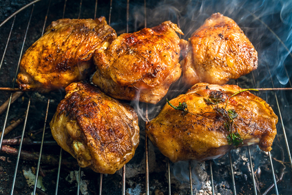 Grilled Beer Brined Chicken