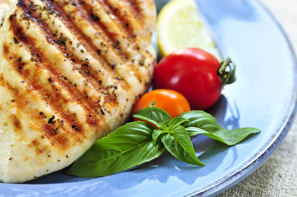 Lemon Zest Grilled Chicken
