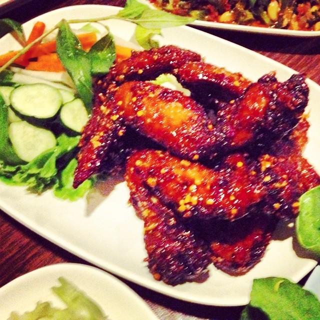 Thai Hot Wings